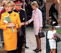 Diana favored Lady Dior bags