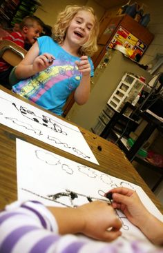 Excellent tips AND kinder art lessons--surviving kinders and enjoying them!