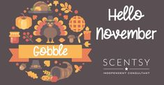 Hello November, Scentsy Independent Consultant, Facebook Banner, Fb Covers, Cover Photos, Iphone Wallpaper, Headers, Banners, Vip