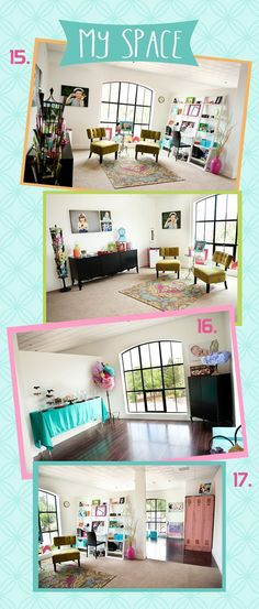 photography studio space of Megan Squires