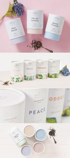 Elegant Tea Brand The Seventh Duchess Gets a Subtle Makeover — The Dieline | Packaging & Branding Design & Innovation News