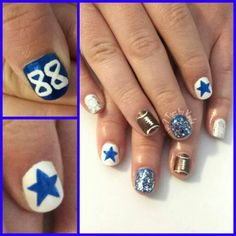 Dez Bryant 88 football nails Dallas Cowboys