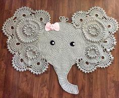 New Baby Elephant Rug