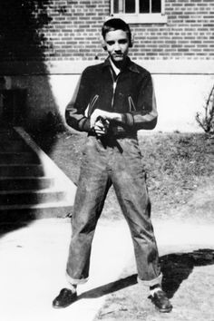 Elvis Presley as a Child - Elvis Presley Childhood - Elvis' Early Childhood. 1948 - 1953 Elvis and his parents live in public housing or low rent homes in the poor neighborhoods of north Memphis. Life continues to be hard. Vernon and Gladys go from job to job and Elvis attends L.C. Humes High School. Elvis works at various jobs to help support himself and his parents. The Presley-Smith family remains close-knit, and Elvis and his family attend the Assembly of God Church. The teenage Elvis…