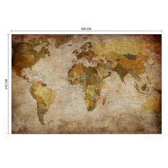 Décor mural - Rebel Walls - World Map - Original