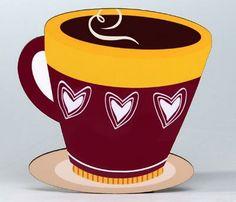 Coffee Mug/Hearts Coaster