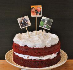 Cake decoration by @thaoslittlekitchen