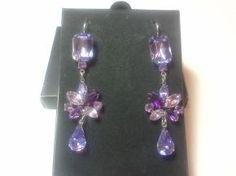 Eternal Magic Faux Amethyst Earrings - Avon $9.99