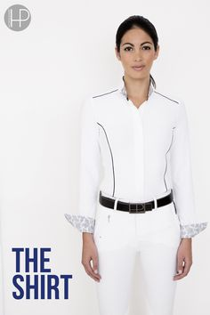 Horseware Platinum Collection A/W14: Ella competition shirt