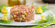 Tartare di tonno e zucchine - http://www.piccolericette.net/piccolericette/tartare-di-tonno-e-zucchine/