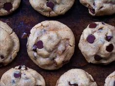 How to make the best vegan chocolate chip cookies that taste just as good as the chocolate chip cookies you remember from childhood - these cookies can give Toll House cookies a run for their money... and NO ONE ever believes they are vegan!
