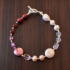 NEW Valentine Jewelry Beaded Bracelet Gemstone and by livjewellery https://www.etsy.com/listing/217551472/new-valentine-jewelry-beaded-bracelet?ref=shop_home_active_8