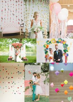 #Wedding Ceremony #Backdrops Mood Board from The Wedding Community