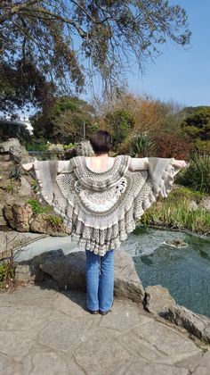 Hot Off The Hook - Ladies Circular Lotus Mandala Duster Jacket / Cardigan - S/M/L Size 18 - £165  Other styles and colours available in adults and children's.  Find me on Facebook - Hot Off The Hook UK  Find me on Instagram - HotOffTheHookUK  Find me on eBay - HotOffTheHookUK  Find me on Etsy - www.etsy.com/uk/shop/HotOffTheHookUK  Email - hotoffthehookuk@gmail.com