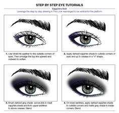 Makeup application is meant to be fun! Get this bold eye look in just a few simple steps.