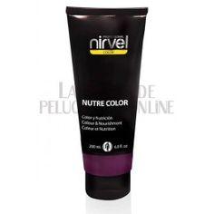 Mascarilla Nutre Color Fucsia 200 ml. Usar sobre pelo decolorado como mascarilla normal