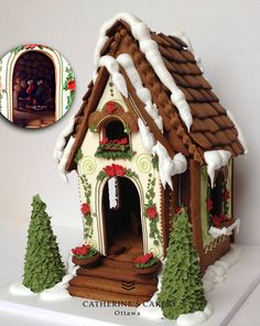 gingerbread house cookie house