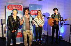 """Die australischen Newcomer von Sheppard waren da und haben ihren Hit """"Geronimo"""" live gespielt. Hört (und seht) es euch an: http://www.antenne.com/on-air/stargaeste/sheppard-geronimo/"""