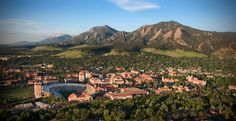 Boulder, CO is just beautiful! Even though I didn't live in town I loved driving to work in the morning looking right at the Rockies! Would love to live here again someday.