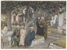 The Meal in the House of Matthew (Le repas chez Mathieu) : James Tissot : Free Download & Streaming : Internet Archive