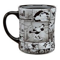 Disney Mickey Mouse ''Steamboat Willie'' Mug - Another must have! I love Mickey, especially the older versions, and I can never have enough big coffee mugs. Mickey Mouse Kitchen, Disney Kitchen, I Love Coffee, Big Coffee, Coffee Time, Tea Time, Mickey Mouse Steamboat Willie, Disney Coffee Mugs, Disney Cups