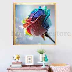 5D Diamond Painting Rose Flower Embroidery Craft Mosaic Stitch DIY Home Decor