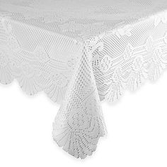 Lace Tablecloth in White | Bed Bath & Beyond | Diner en Blanc