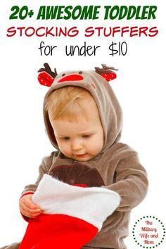 20 Most Popular Toddler Stocking Stuffers for Under $10 via @lauren9098