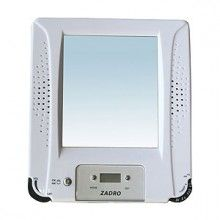 Fog Free Shower Mirror with Radio and Clock