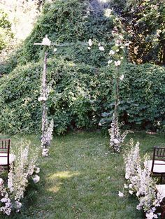 DIY Wildflower Aisle Wedding Ideas -