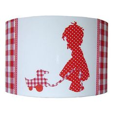 Lampshade 'Child' Red