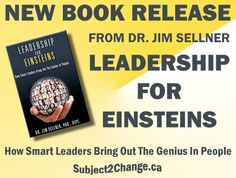 New!  Leadership for Einsteins.  Become a leader who brings out the genius in people, while building a highly productive team.