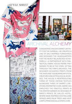 Pierre Frey Vincent darre fabrics