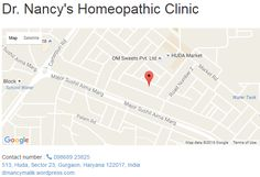Google Map of Dr Nancy's Homeopathic Clinic