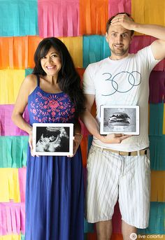 Fun Ways to Announce Your Pregnancy via Live Colorful