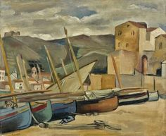 André Lhote, Collioure a Storm Day