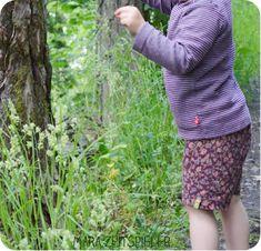 Upcycling-Sommerhose ~ Mara Zeitspieler