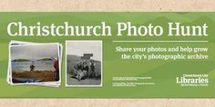 The theme of our heritage photo competition is Plains, Port Hills & Peninsula – Finding our way. Enter online or at your local library. City Library, Local Library, Photo Competition, Community