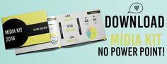 Midia Kit para blogueiros  feito no PowerPoint de forma profissional com o objetivo de auxiliar na hora de fechar parcerias com empresas.  Confira e faça o download do Midia Kit gratuito