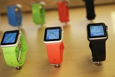 Apple Watch 2 Price, Release Date & Specs: How Gadget Is Better Than The First One  NEW YORK, NY – APRIL 10: The new Apple Watch is viewed at an Apple store in Manhattan on April 10, 2015 in New York, New York. Consumers around the world were able to try on the long awaited smartwatch on Friday and to place orders. On April 24, consumers will be able to buy it online or by appointment in select stores. The Apple Watch sport starts at $ 349 with the standard version retailing at $ 549..