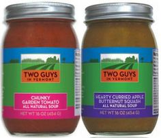 The snow is falling again. Stay warm with VT made soup and MORE GIFTS!