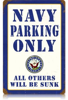 Show some United States military Navy pride with some vintage signs and retro posters. We carry US Navy Sailor signs and others including Navy SEALS, Army, and Seabees.
