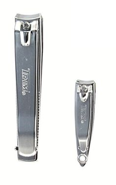 Fingernail and Toenail Clippers with File. 2-set. Trim
