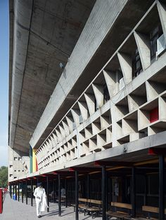 The Palace of Justice in Chandigarh represents a positive premier manifestation of an esthetic possible in reinforced concrete.