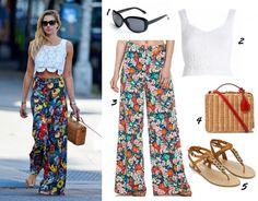 Sommer Outfits für Frauen - Marlenehose mit hoher Taille