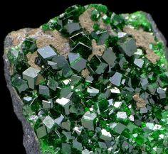 Demantoid Garnets - Russia / Mineral Friends <3
