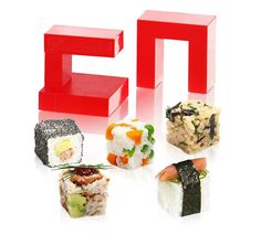 Rice Cubes - #love #RiceCube #sushi #vegetables #Japanese #food #home #kitchenware #cooking - http://madeofmillions.com/rice-cubes/