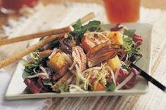 Sweet Potato, Pineapple and Cheddar Salad