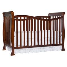 Dream On Me Violet 7 in 1 Convertible Life Style Crib, Espresso Product Features 7 in crib, toddler bed, day bed, twin bed setup options) or full bed setup options)Solid wood position mattress .
