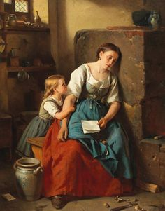 View The letter by Berthold Woltze on artnet. Browse upcoming and past auction lots by Berthold Woltze. Victorian Paintings, Renaissance Paintings, Victorian Art, Renaissance Art, Image Halloween, Classic Paintings, Pre Raphaelite, Wow Art, Classical Art
